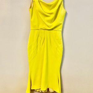 Zac Posen yellow dress